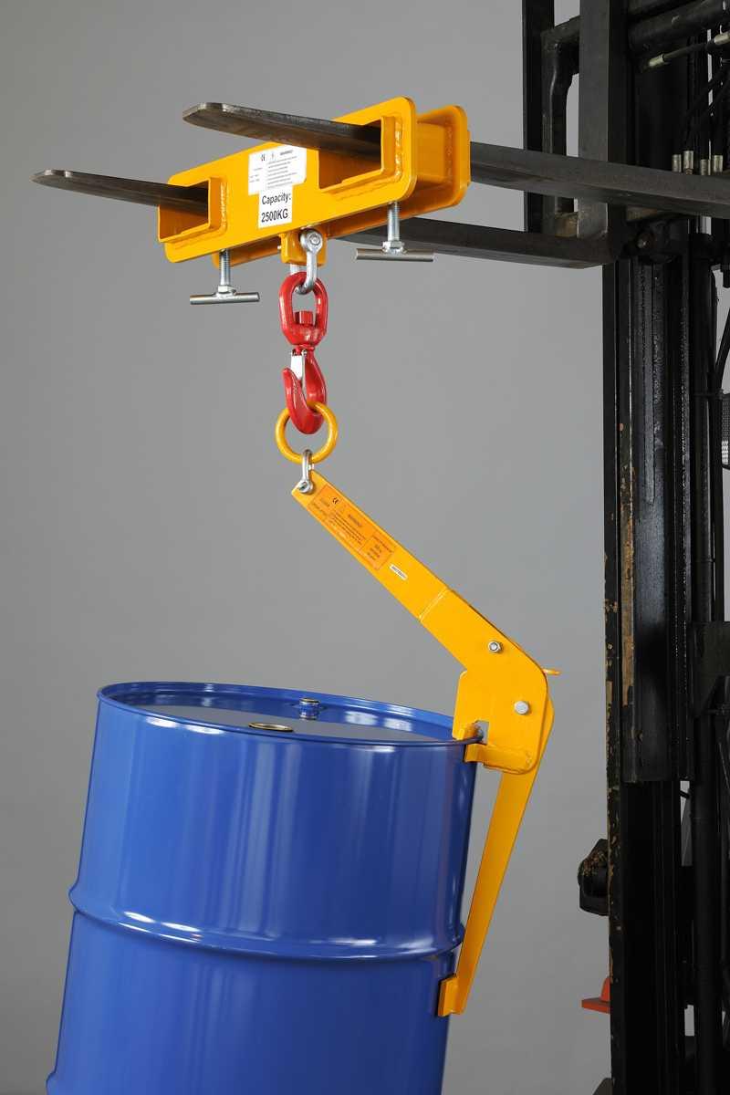 dcv500油桶起吊夹1
